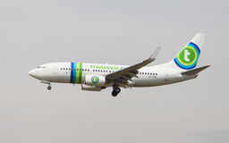 Transavia Boeing 737 Royalty Free Stock Photography