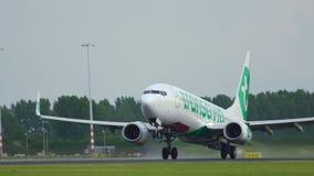 Transavia Boeing 737 PH-HXB saca metrajes