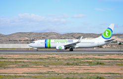 Transavia Passenger Plane Aircraft Royalty Free Stock Photo