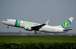 Transavia.com Boeing 737-800 Photos stock
