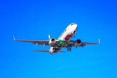 Transavia flache Abreise stockfotografie
