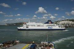 Transbordador de coche de Dover Imagenes de archivo