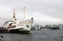 Transbordador de Estambul Fotos de archivo libres de regalías