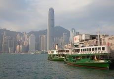 Transbordador de Hong-Kong Foto de archivo