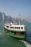 Transbordador de Hong-Kong Foto de archivo libre de regalías