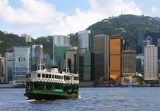 Transbordador de Hong-Kong Imagen de archivo libre de regalías