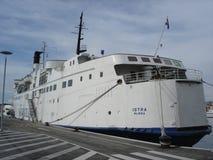 Transbordador de Istra Fotografía de archivo