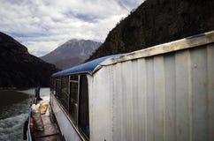 Transbordador de Koman del lago Imágenes de archivo libres de regalías