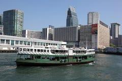 Transbordador de la estrella en Hong Kong imagenes de archivo