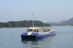 Transbordador de la isla Fotos de archivo