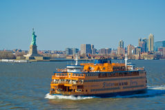 Transbordador de la isla de Staten fotos de archivo