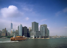 Transbordador de la isla de Staten Imágenes de archivo libres de regalías