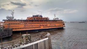 Transbordador de la isla de Staten Fotografía de archivo libre de regalías