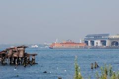 Transbordador de la isla de Staten, New York City Imagenes de archivo