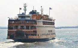 Transbordador de la isla de Staten imagen de archivo libre de regalías