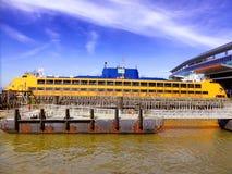 Transbordador de la isla de Staten foto de archivo libre de regalías