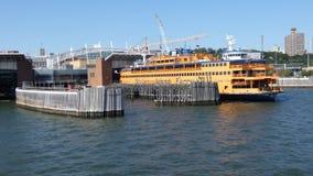 Transbordador de la isla de Staten almacen de video