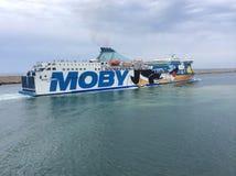 Transbordador de Moby Tommy Fotos de archivo libres de regalías