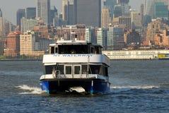 Transbordador de New Jersey Foto de archivo libre de regalías
