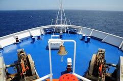 Transbordador de pasajero. Italia. Fotografía de archivo libre de regalías