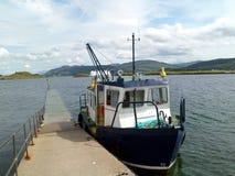 Transbordador de pasajero para la isla de Lismore fotografía de archivo