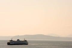 Transbordador de Seattle Foto de archivo libre de regalías