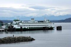 Transbordador de Seattle Imágenes de archivo libres de regalías