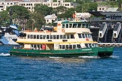 Transbordador de Sydney Imágenes de archivo libres de regalías