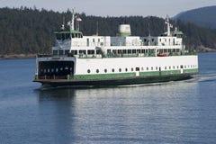Transbordador del automóvil del estado de Washington Fotografía de archivo