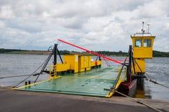 Transbordador del cable en la isla de Oroe imagen de archivo libre de regalías