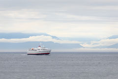 Transbordador del Coho, Washington State, península olímpica Foto de archivo