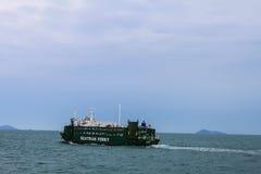 Transbordador del pasajero de Seatran en la isla de Samui, Surat Thani Foto de archivo libre de regalías