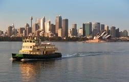 Transbordador del puerto de Sydney fotografía de archivo