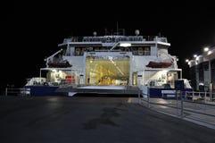 Transbordador en acceso Fotografía de archivo libre de regalías