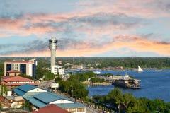 Transbordador en Dar es Salaam Imágenes de archivo libres de regalías