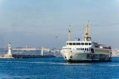 Transbordador en Estambul imagen de archivo