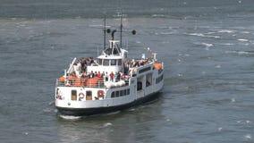 Transbordador en Helsinki almacen de video