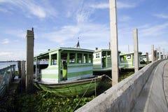 Transbordador en la bahía Imágenes de archivo libres de regalías