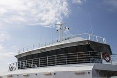 Transbordador en la travesía Kerch Imágenes de archivo libres de regalías