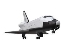 Transbordador espacial aislado stock de ilustración