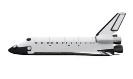 Transbordador espacial aislado libre illustration