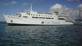 Transbordador Filipinas de Cebú Foto de archivo libre de regalías