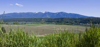Transbordador Idaho del norte de Kootenai River Valley Bonners Imagen de archivo