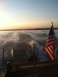 Transbordador a la isla #2 de Bustins Fotografía de archivo libre de regalías