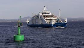 Transbordador a la isla de Tenedos Bozcaada Fotos de archivo libres de regalías
