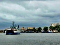 Transbordador, Polonia fotos de archivo