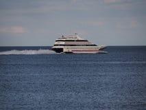 Transbordador rápido del transbordador del punto de Oriente Fotografía de archivo