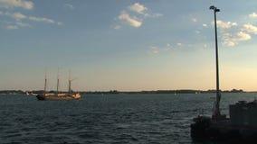 Transbordador Toronto, Canadá almacen de metraje de vídeo
