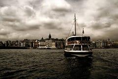 Transbordadores de Estambul Imágenes de archivo libres de regalías