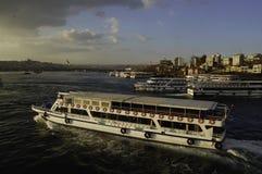 Transbordadores de Estambul 2015 imagen de archivo